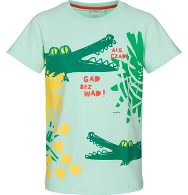 Endo - T-shirt z krótkim rękawem dla chłopca 9-13 lat C91G639_1