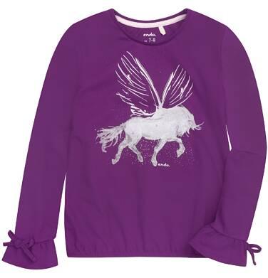 Endo - Bufiasta bluzka dla dziewczynki 3-8 lat D72G028_2