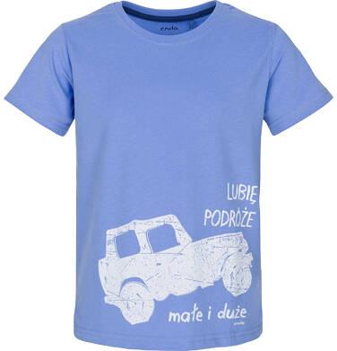 Endo - T-shirt z krótkim rękawem dla chłopca 9-13 lat C91G640_1