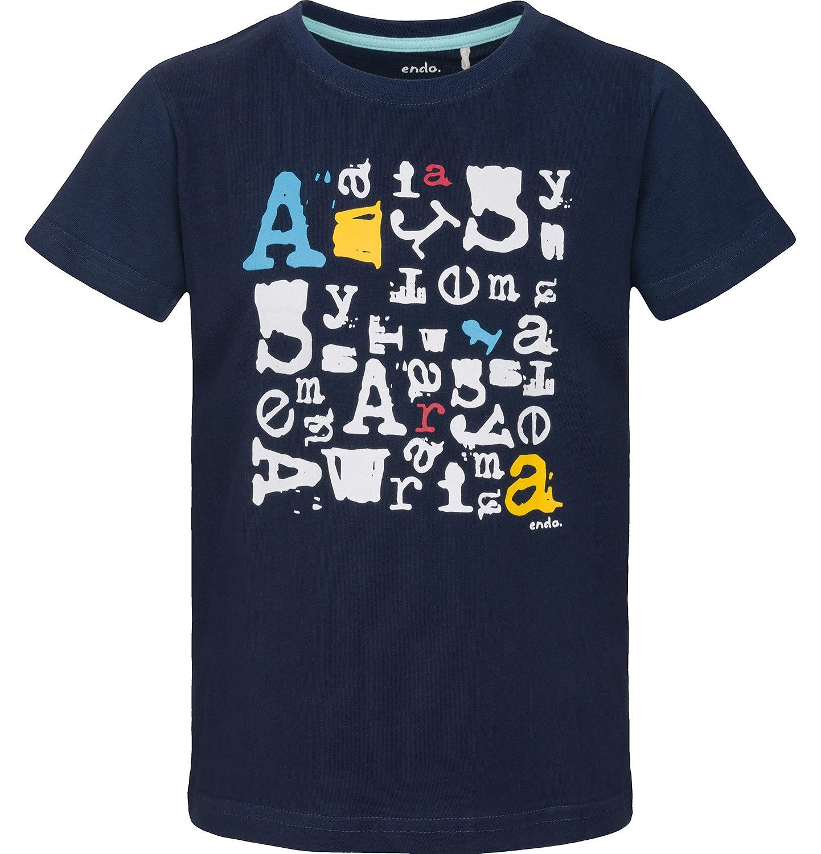 Endo - T-shirt z krótkim rękawem dla chłopca 9-13 lat C91G667_1