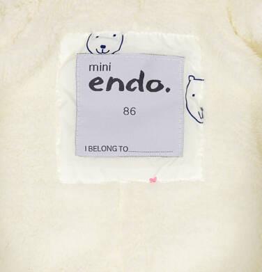Endo - Kombinezon zimowy dla małego dziecka, z falbanką, deseń w misie N92A004_1