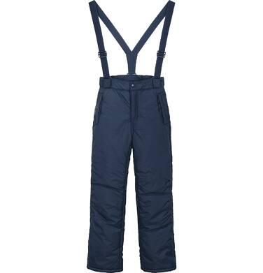 Endo - Spodnie ocieplane na szelkach dla dziewczynki 9-13 lat D82K501_1