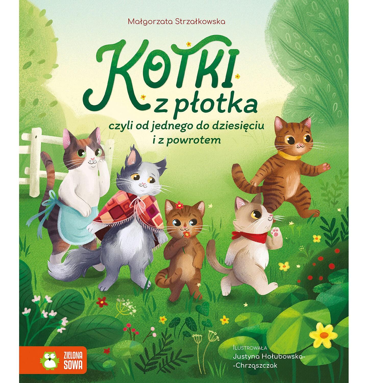 Endo - Kotki z płotka, czyli od jednego do dziesięciu i z powrotem, Małgorzata Strzałkowska, Zielona Sowa BK04194_1