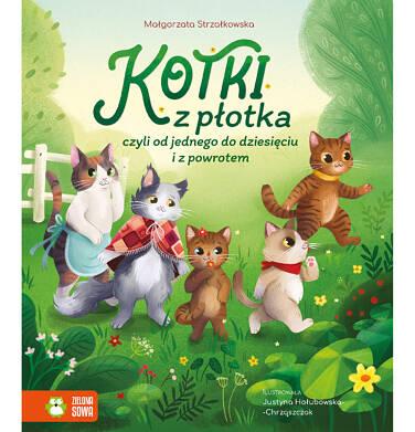 Endo - Kotki z płotka, czyli od jednego do dziesięciu i z powrotem, Małgorzata Strzałkowska, Zielona Sowa BK04194_1 12
