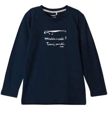 Endo - T-shirt z długim rękawem dla chłopca 3-8 lat C62G137_1