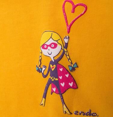 Endo - Bluzka z długim rękawem  dla dziewczynki 9-13 lat D72G569_1