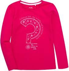 Bluzka z długim rękawem  dla dziewczynki 9-13 lat D72G621_1