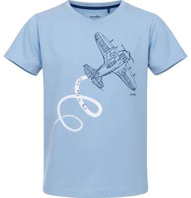Endo - T-shirt z krótkim rękawem dla chłopca 9-13 lat C91G648_2