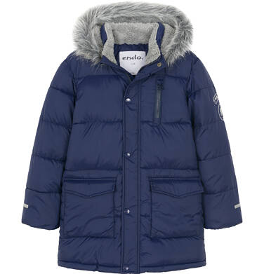 Endo - Płaszcz zimowy dla chłopca 3-8 lat C92A006_1