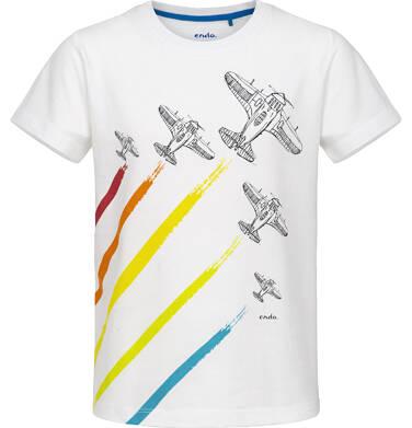 Endo - T-shirt z krótkim rękawem dla chłopca 9-13 lat C91G649_1