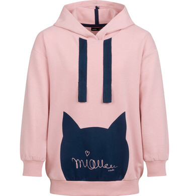 Endo - Bluza dla dziewczynki, z kapturem, różowa, 2-8 lat D03C022_1 8