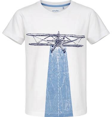 Endo - T-shirt z krótkim rękawem dla chłopca 9-13 lat C91G650_1
