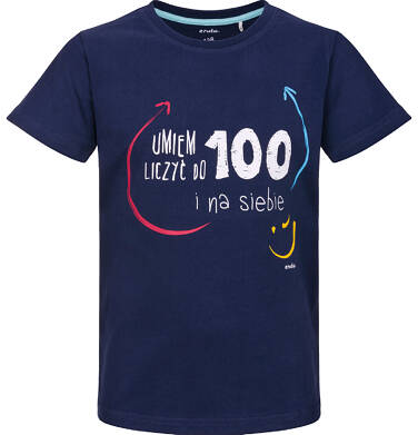 Endo - T-shirt z krótkim rękawem dla chłopca 9-13 lat C91G673_1