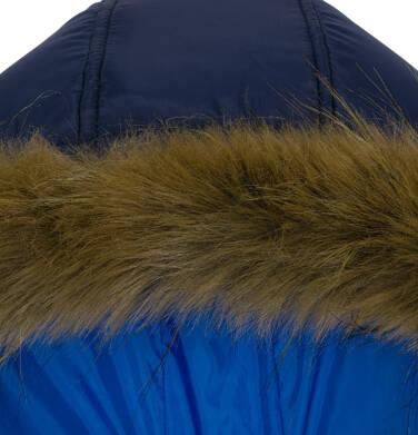 Endo - Zimowa kurtka dla chłopca 3-8 lat, Charakter doskonały, ciemnogranatowa, odblask z misiem C92A007_2