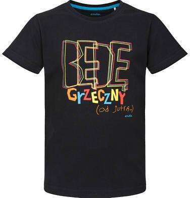 Endo - T-shirt z krótkim rękawem dla chłopca 3-8 lat C91G175_1