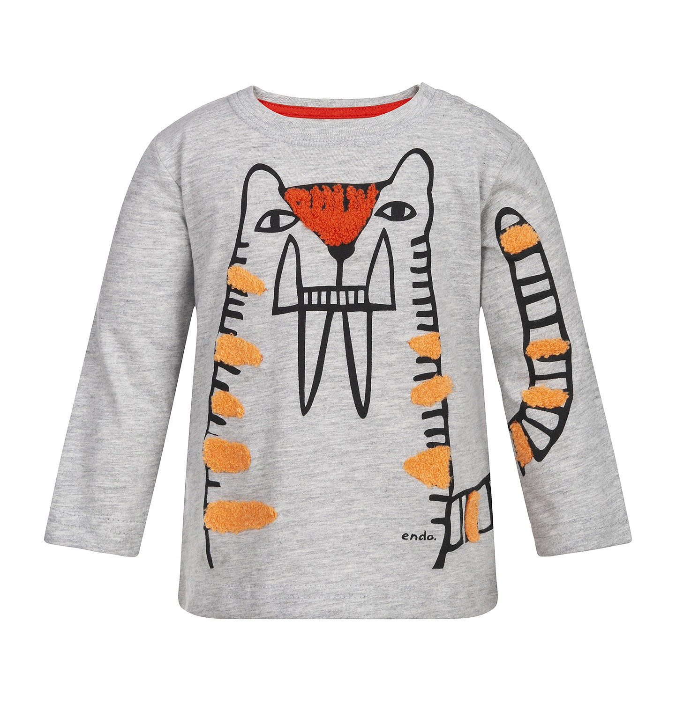 Endo - T-shirt z długim rękawem dla dziecka 0-3 lata N82G008_1
