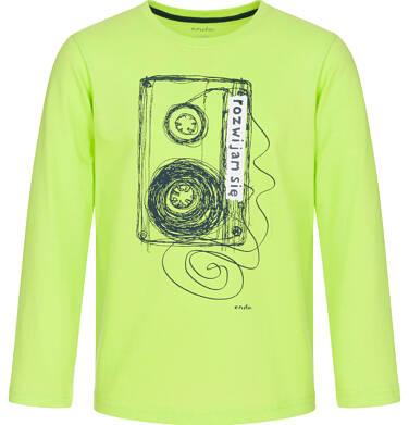 Endo - T-shirt z długim rękawem dla chłopca 9-13 lat C92G612_1