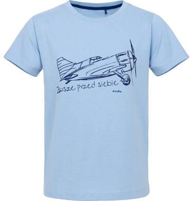 Endo - T-shirt z krótkim rękawem dla chłopca 9-13 lat C91G651_1