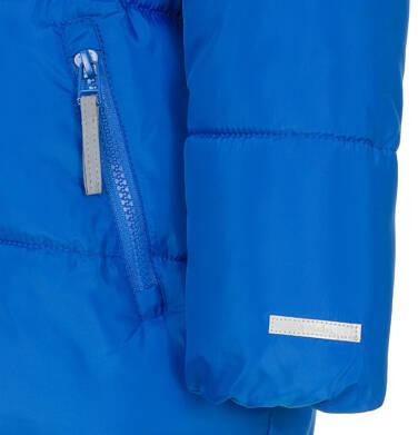 Endo - Zimowa kurtka dla chłopca 3-8 lat, Mam Cię na oku, niebieska, ciepła C92A009_1,7