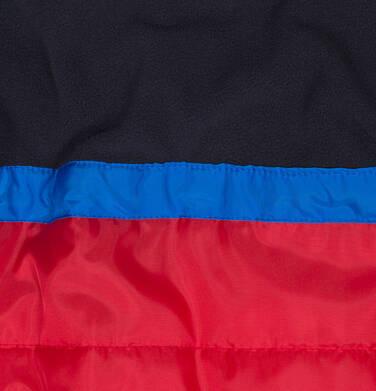 Endo - Zimowa kurtka dla chłopca 3-8 lat, Mam Cię na oku, niebieska, ciepła C92A009_1,5