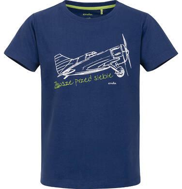 Endo - T-shirt z krótkim rękawem dla chłopca 9-13 lat C91G651_2