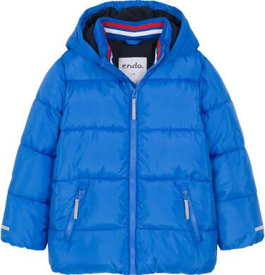Endo - Zimowa kurtka dla chłopca 9-13 lat, Mam Cię na oku, niebieska C92A509_1