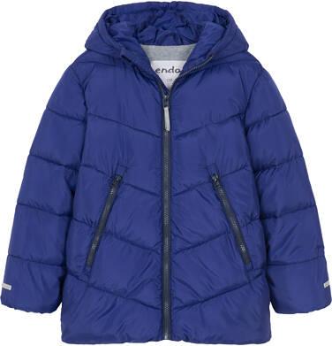 Endo - Zimowa kurtka dla chłopca 3-8 lat, granatowa, odblaskowe elementy, polarowa podszewka C92A011_1