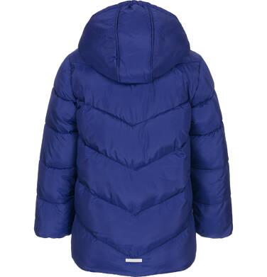 Endo - Zimowa kurtka dla chłopca 3-8 lat, granatowa, odblaskowe elementy, polarowa podszewka, ciepła C92A011_1,4