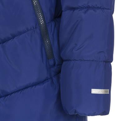 Endo - Zimowa kurtka dla chłopca 3-8 lat, granatowa, odblaskowe elementy, polarowa podszewka, ciepła C92A011_1,7