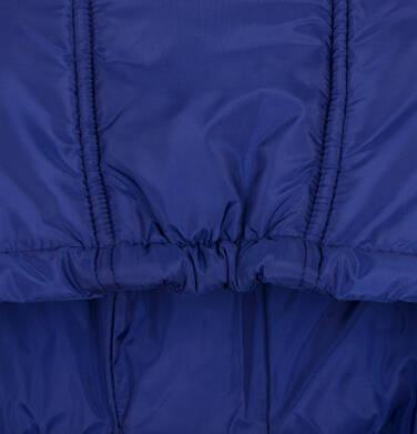 Endo - Zimowa kurtka dla chłopca 3-8 lat, granatowa, odblaskowe elementy, polarowa podszewka, ciepła C92A011_1,5