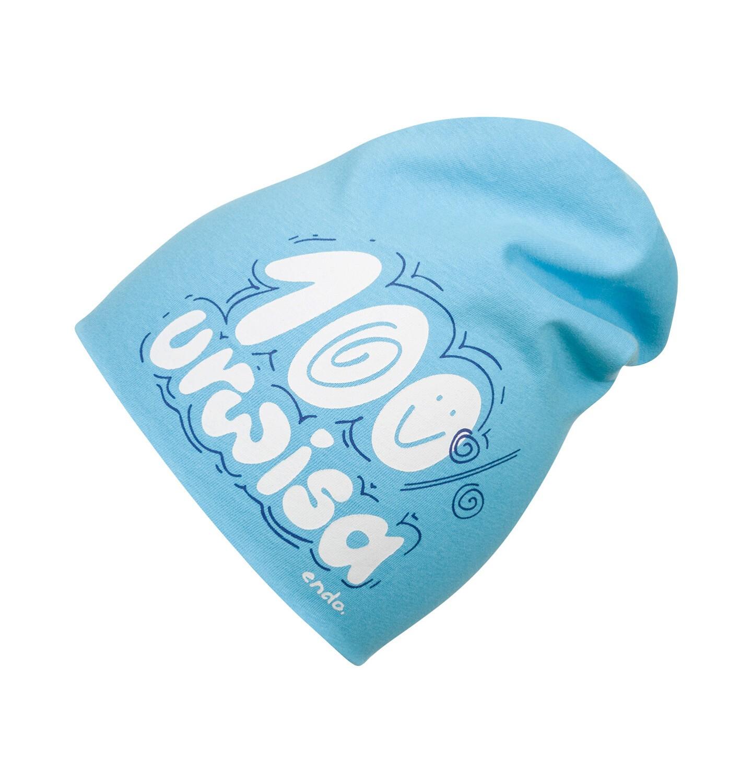 Endo - Czapka wiosenna dla dziecka do 2 lat, niebieska N03R036_1