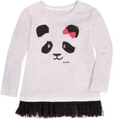 Endo - Bluzka z tiulową mini falbanką dla dziecka 6-36 m N72G009_1