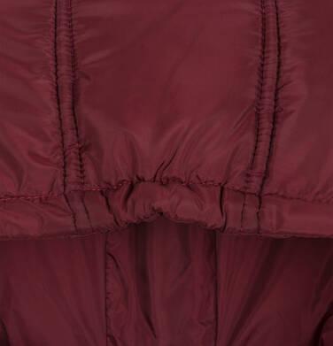 Endo - Zimowa kurtka dla chłopca 3-8 lat, ciemnowiśniowa, odblaskowe elementy, polarowa podszewka, ciepła C92A011_2,7