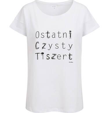 Endo - T-shirt damski, ostatni czysty, biały Y03G019_1,1