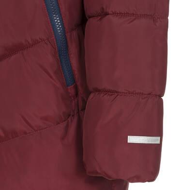 Endo - Zimowa kurtka dla chłopca 9-13 lat, ciemnowiśniowa, odblaskowe elementy, polarowa podszewka, ciepła C92A511_2,7