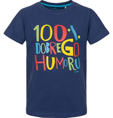 Endo - T-shirt z krótkim rękawem dla chłopca 3-8 lat C91G180_1