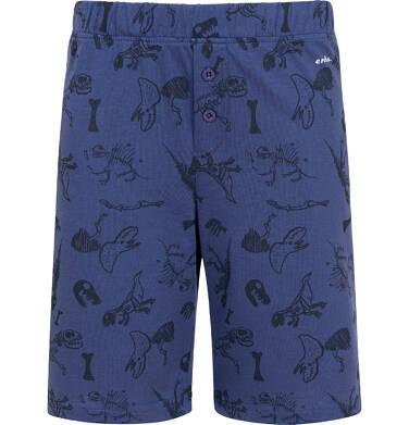 Endo - Piżama z krótkim rękawem dla chłopca z dinozaurem, niebieska, 2-8 lat C05V020_1 1