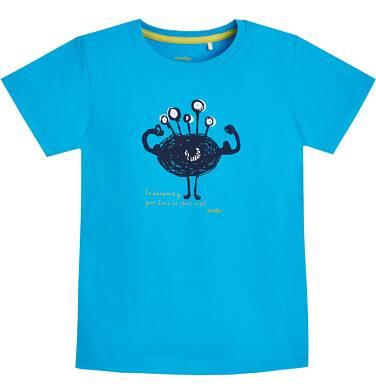Endo - T-shirt z krótkim rękawem dla chłopca 9- 13 lat C81G528_2