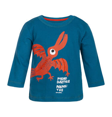 Endo - T-shirt z długim rękawem dla dziecka 0-3 lata N82G009_1