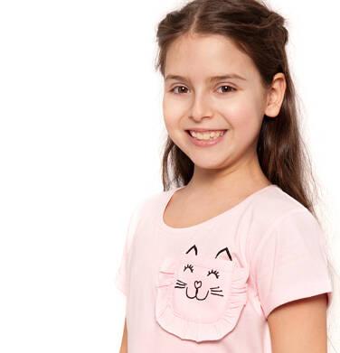 Endo - T-shirt z krótkim rękawem dla dziewczynki 3-8 lat D91G069_1