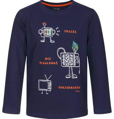 Endo - T-shirt z długim rękawem dla chłopca 3-8 lat C92G113_1