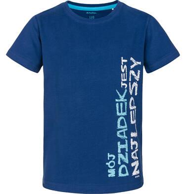 T-shirt z krótkim rękawem dla chłopca 3-8 lat C91G181_1