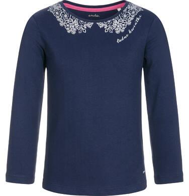 Endo - Bluzka z długim rękawem dla dziewczynki 9-13 lat D92G503_3