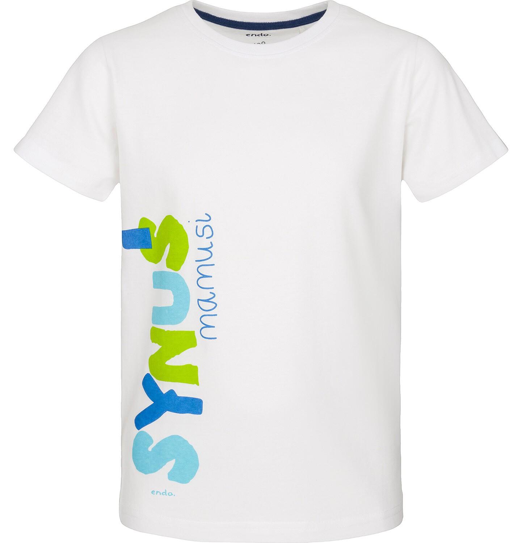 Endo - T-shirt z krótkim rękawem dla chłopca 3-8 lat C91G183_1