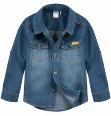 Endo - Koszula jeansowa dla niemowlaka N52F003_1