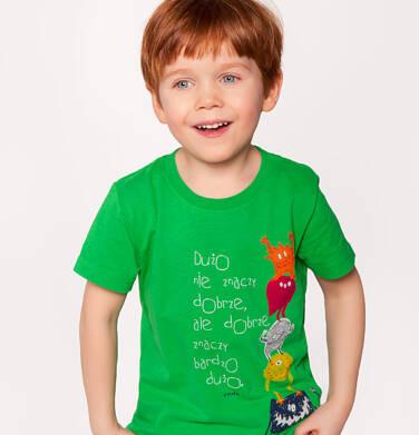 Endo - T-shirt dla chłopca 3-8 lat C81G035_1