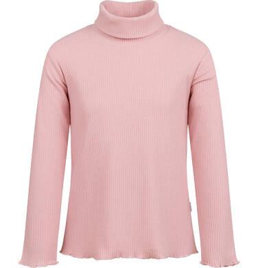 Endo - Golf z długim rękawem dla dziewczynki, różowy, 2-8 lat D03G218_1 242