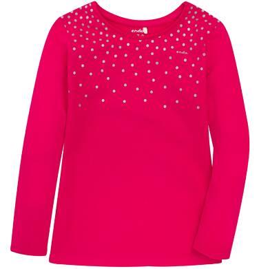 Endo - Bluzka z długim rękawem  dla dziewczynki 9-13 lat D72G642_2