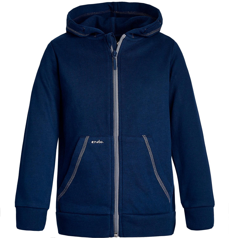 Endo - Bluza rozpinana z kapturem dla dziewczynki 3-8 lat D82C032_1