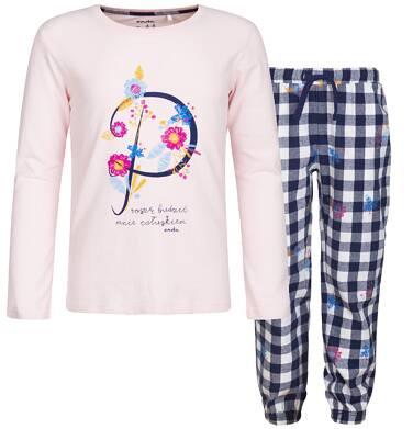 Endo - Piżama z długim rękawem dla dziewczynki 3-8 lat D82V002_1